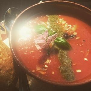 Vegane Suppe aus dem Cafe Mala