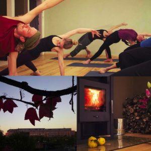 Starte mit Yoga in die kalte Jahreszeit - im ELEMENT Ost Yoga Studio Leipzig